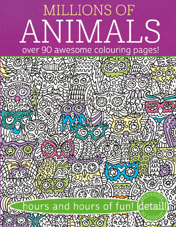 Complicated Colouring - Millions of Animals