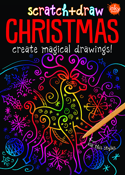 Scratch and Draw Christmas