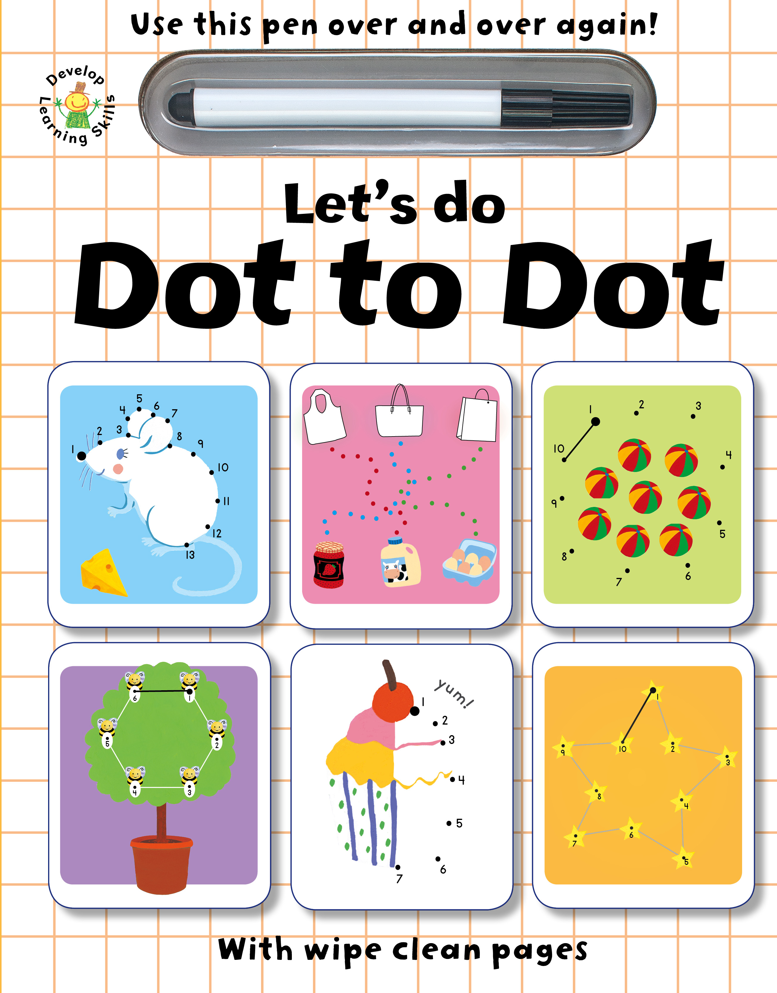 Wipe Clean Let's Learn Dot to Dot