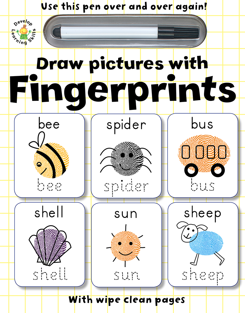 Draw Pictures With Fingerprints