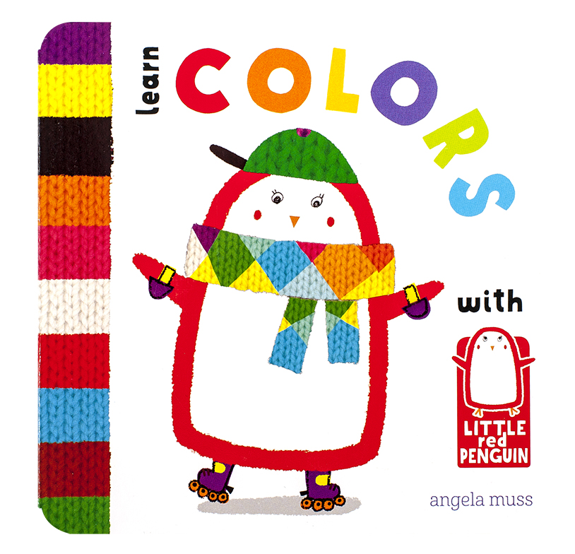 Little Red Penguin - Learn Colours
