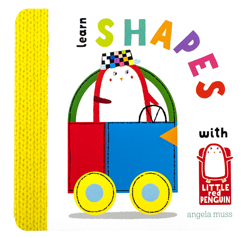 Little Red Penguin - Learn Shapes
