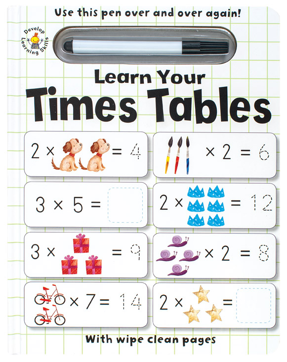 Wipe Clean Learn Your Times Tables