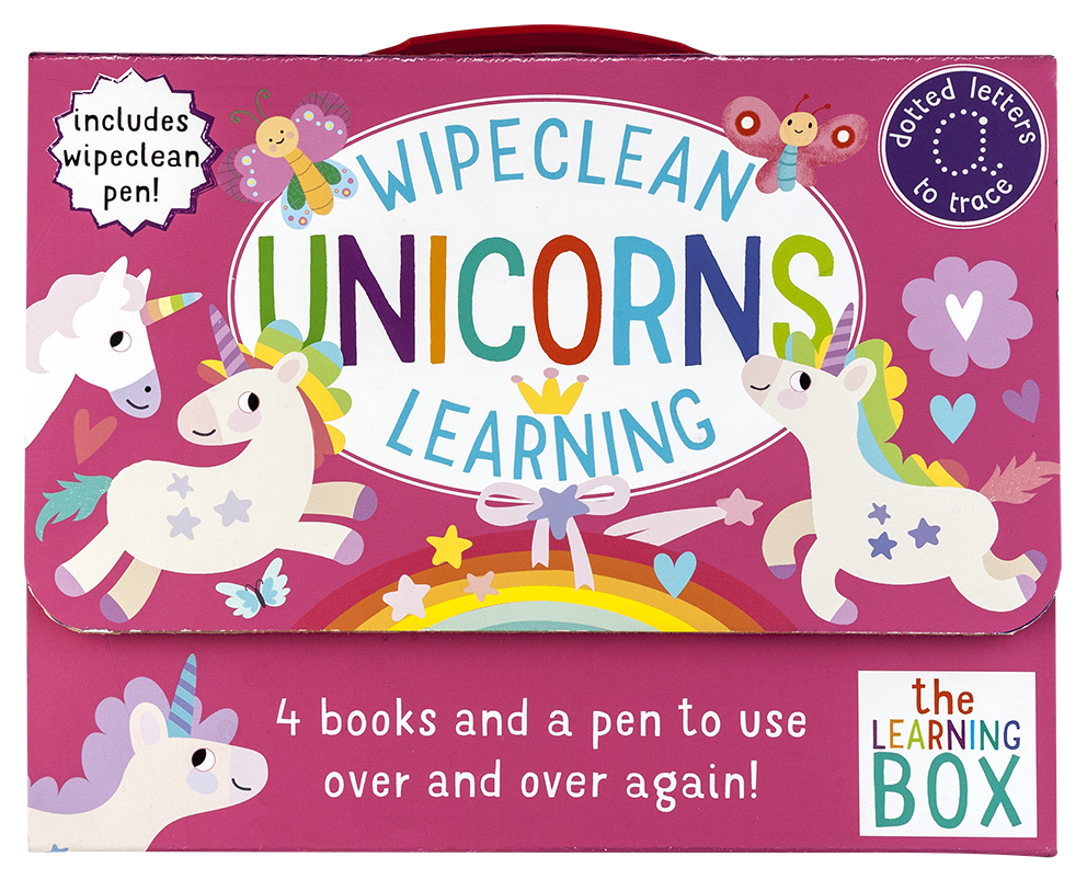 Wipeclean Unicorns Learning