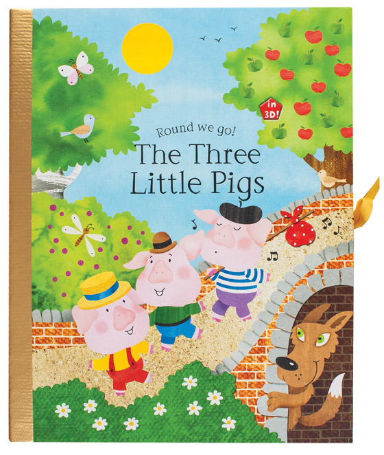 Round we go! The Three Little Pigs
